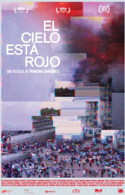 El Cielo esta Rojo film documentaire affiche réalisé par Francina Carbonell