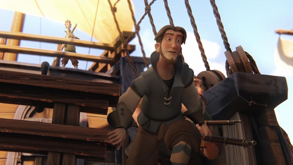 Elcano y magallanes la primera vuelta al mundo film animation image
