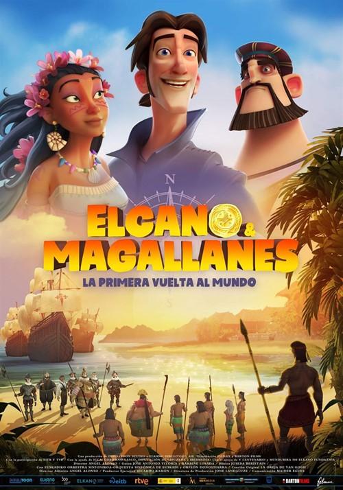 Elcano y magallanes la primera vuelta al mundo film animation affiche