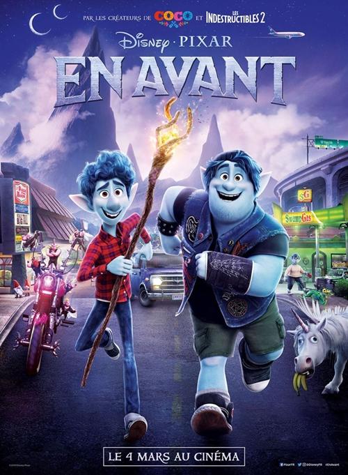 En avant film animation affiche