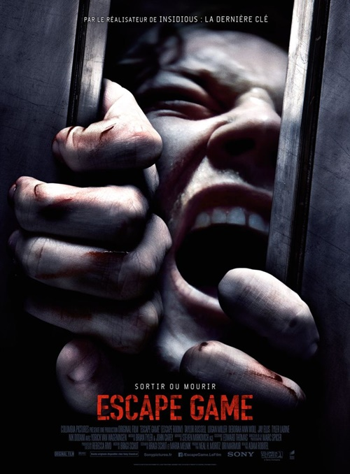 Escape game film affiche