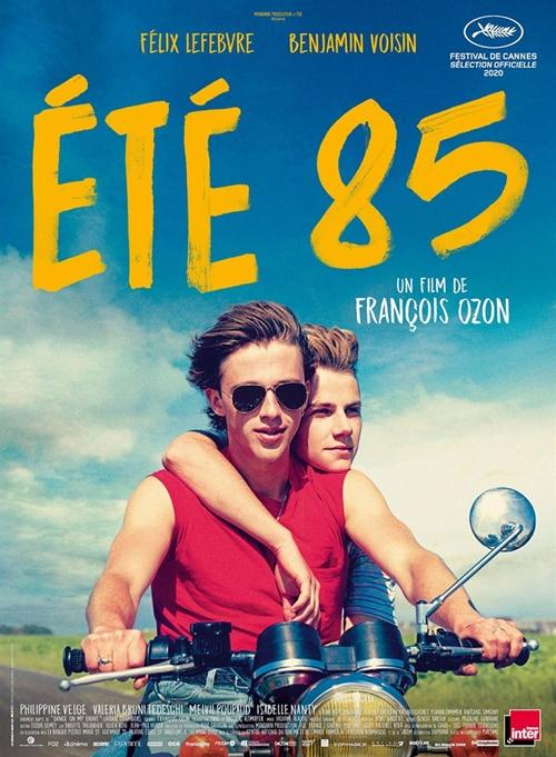 Eté 85 film affiche