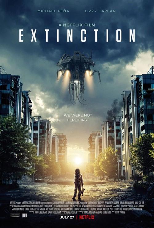 Extinction 2019 Ben Young film affiche