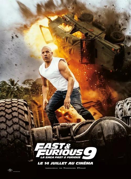 Fast and Furious 9 film affiche réalisé par Justin Lin