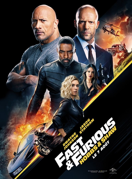 Fast and Furious : Hobbs and Shaw film affiche