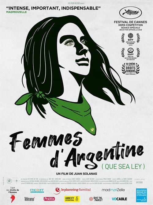 Femmes d'Argentine film documentaire affiche