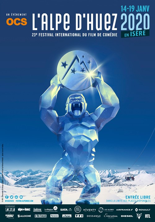 Festival de l'Alpe d'Huez 2020 affiche grande