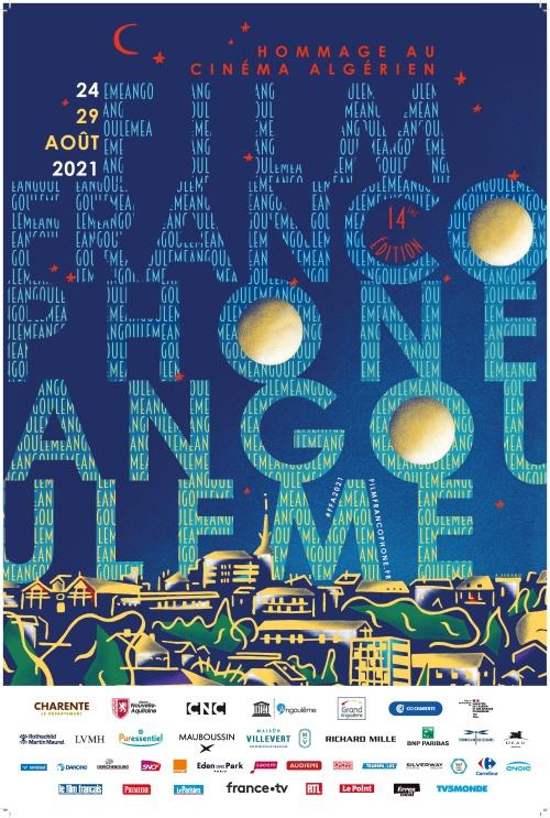 Festival du film francophone d'Angoulême 2021 affiche