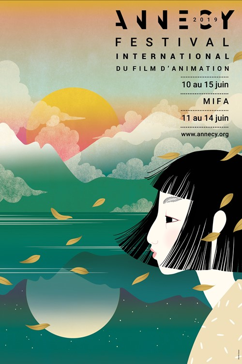 Festival d'Annecy 2019 affiche