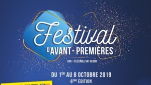 Festival d'Avant-premières CGR Brignais 2019 image