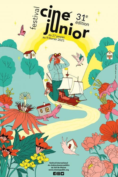 Festival Ciné Junior 2021 affiche