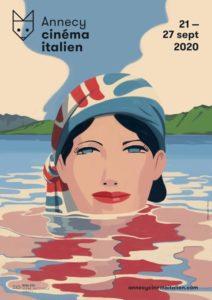 Festival Cinéma Italien Annecy 2020 affiche