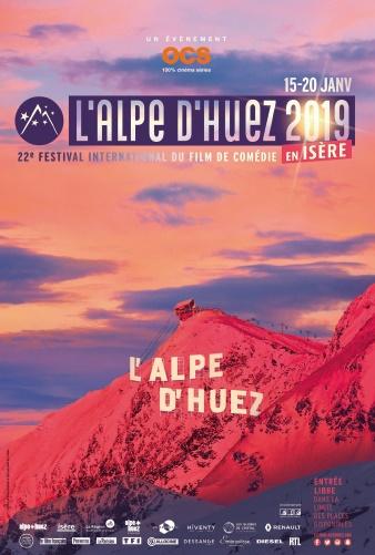 Festival Alpe d'Huez 2019 affiche