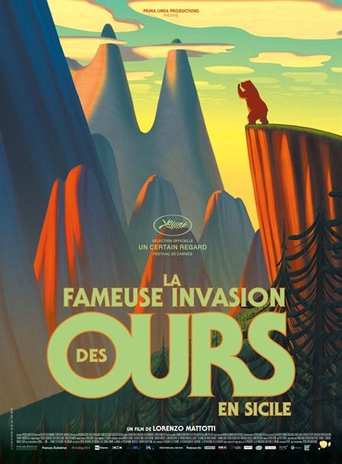 Festival de Cannes 2019 impression La fameuse invasion des ours en Sicile