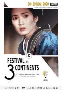 Festival des 3 continents 2020 Nantes affiche