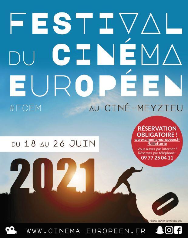 Festival du Cinéma européen de Meyzieu 2021 affiche