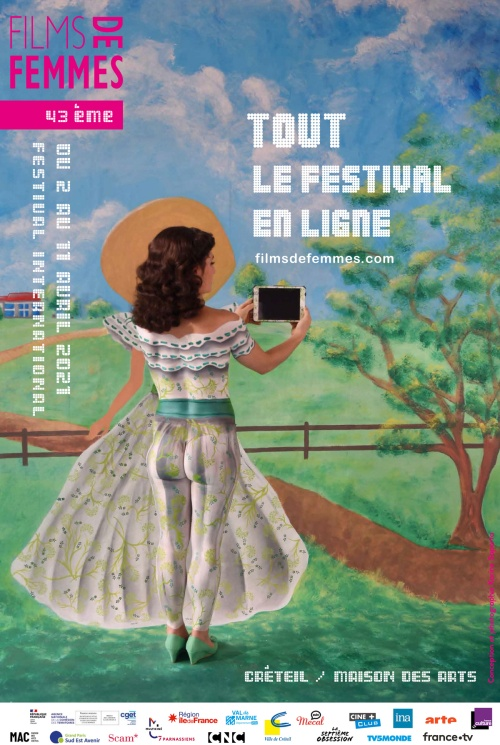 Festival du film de femmes de Créteil 2021 affiche