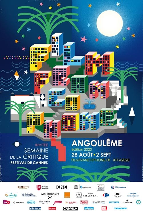 Festival du film francophone d'Angoulême 2020 affiche