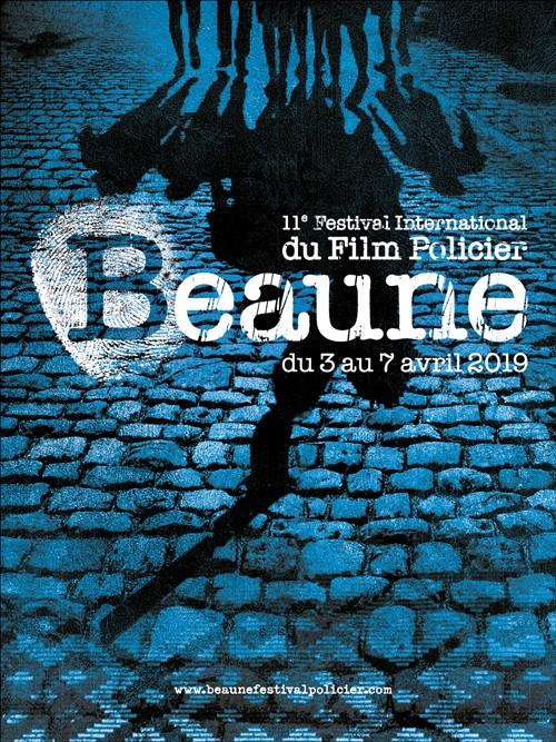 Festival du film policier de Beaune 2019 affiche