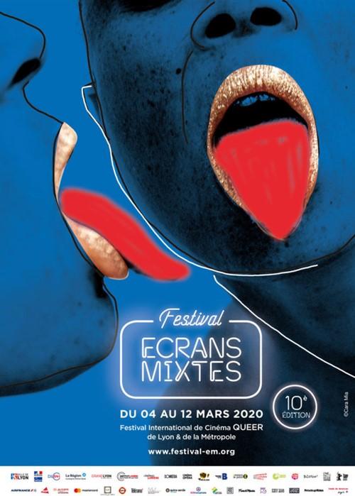 Festival Ecrans Mixtes 2020 affiche