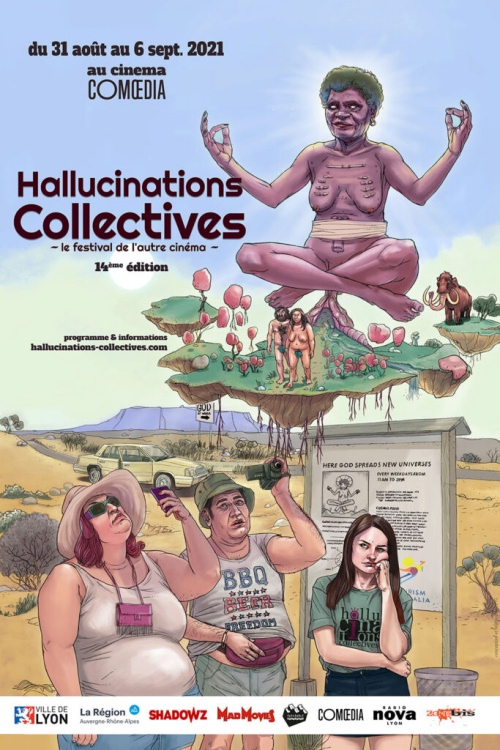 Festival Hallucinations collectives 2021 affiche