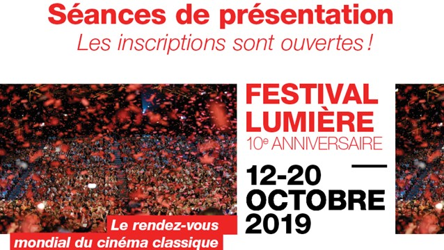Festival Lumière 2019 présentation horizontale