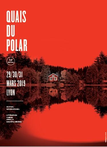 Festival Quais du polar 2019 affiche