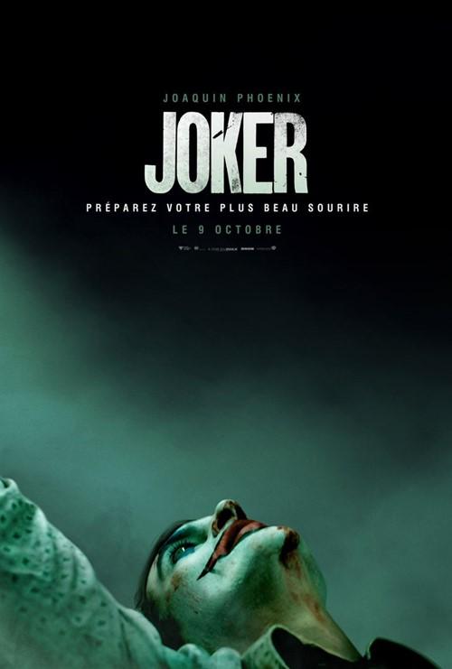 Festival de Venise 2019 impression Joker affiche
