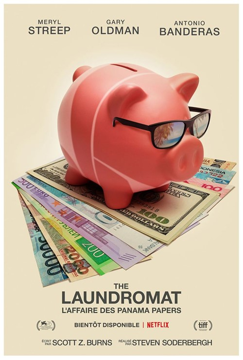 Festival de Venise 2019 impression The Laundromat