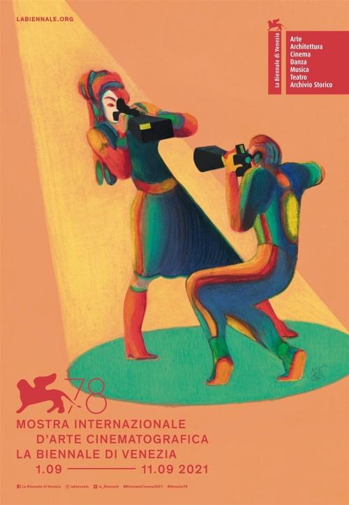 Festival de Venise Mostra del cinema de Venezia 2021 affiche