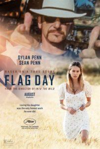 Flag Day film affiche provisoire réalisé par Sean Penn