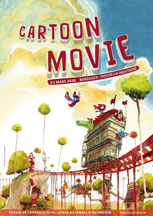 Festival Forum Cartoon movie 2020 affiche