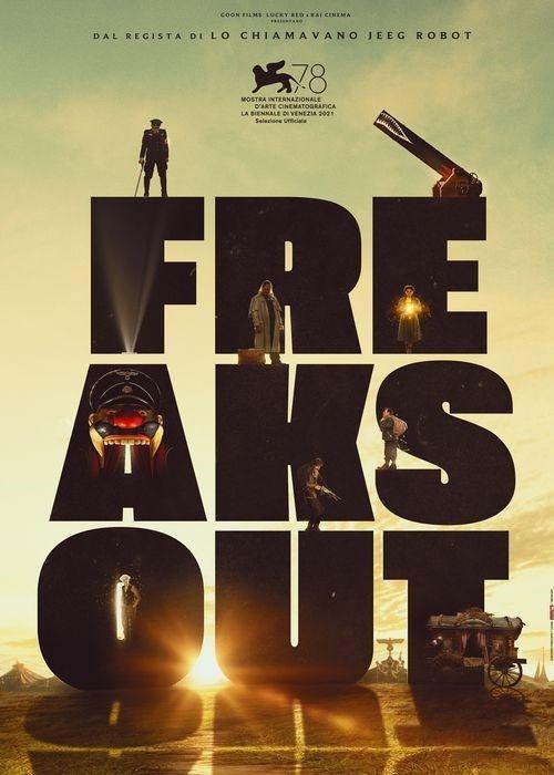 Freaks Out film affiche provisoire