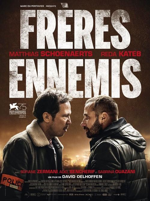 Frères ennemis film affiche