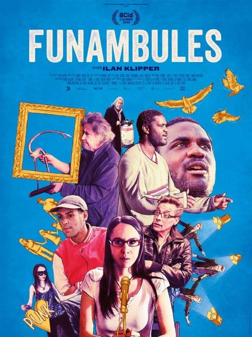 Funambules film documentaire affiche réalisé par Ilan Klipper