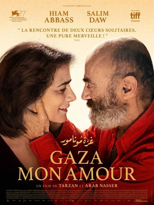 Gaza, mon amour film affiche réalisé par Arab Nasser et Tarzan Nasser