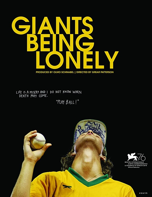 Giants being lonely film affiche