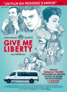 Give me liberty film affiche