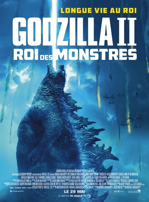 Godzilla 2 roi des monstres film affiche