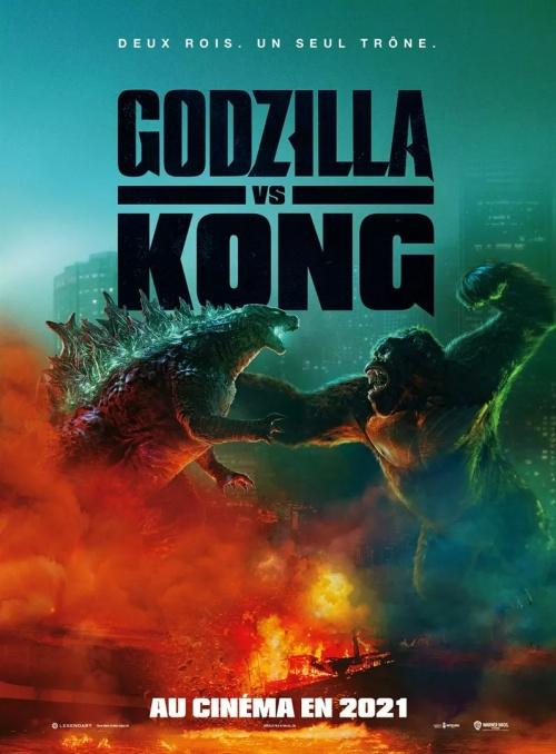 Godzilla Vs Kong film affiche réalisé par Adam Wingard