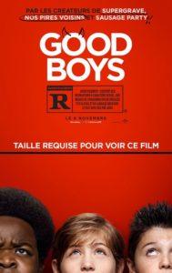 Good boys film affiche