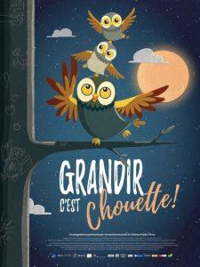Grandir, c'est chouette ! film animation affiche réalisé par Irene Iborra, Eduard Puertas, Célia Tocco, Célia Tisserant et Arnaud Demuynck