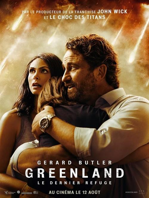 Greenland Le dernier Refuge film affiche