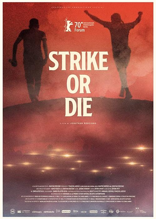 Grève ou crève film documentaire affiche