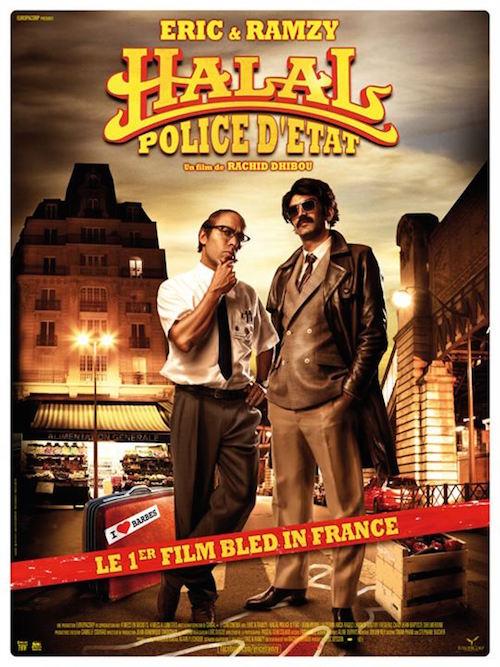 Halal Police d'État film affiche