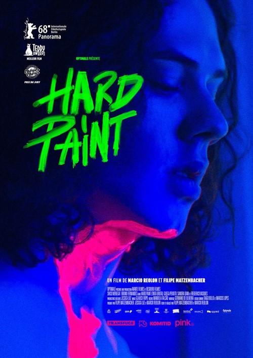 Hard Paint - Tinta Bruta - film affiche définitve