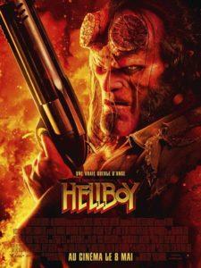 Hellboy 2019 film affiche