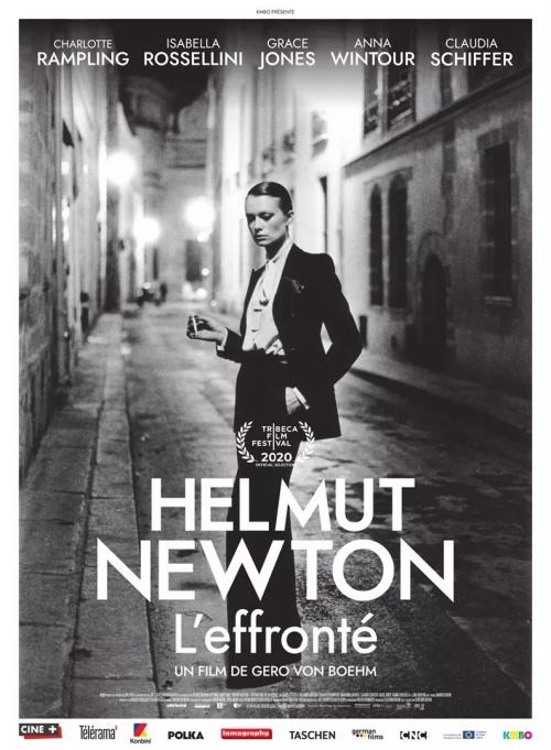 Helmut Newton, l'effronté film documentaire affiche réalisé par Gero von Boehm