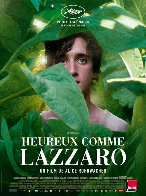 Heureux comme Lazzaro affiche
