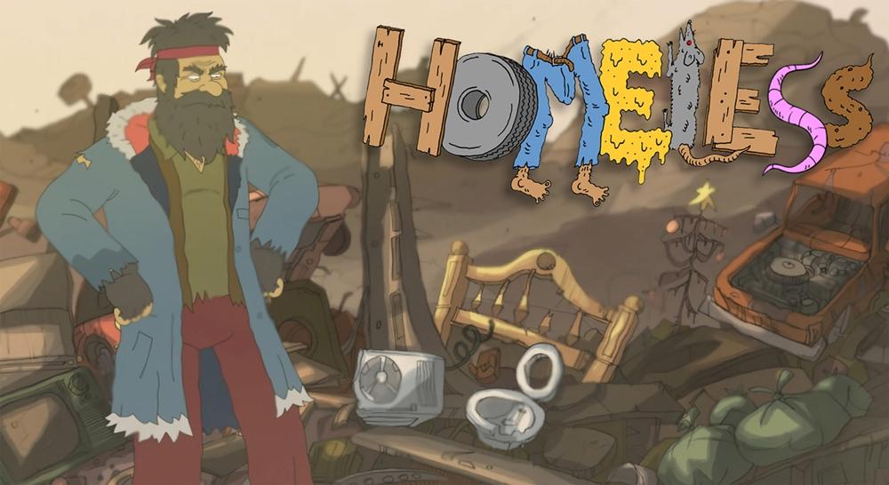Homeless film animation image